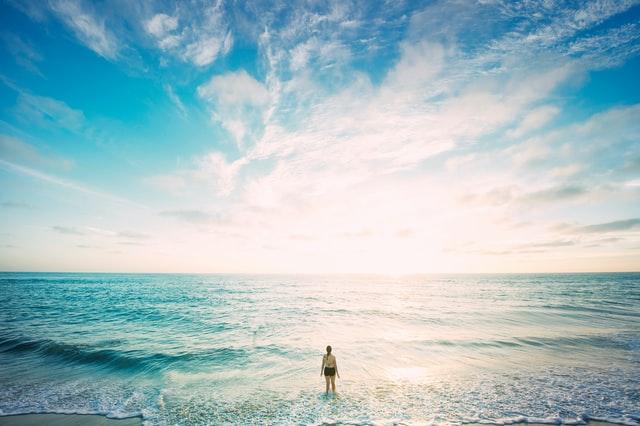 始まりの海